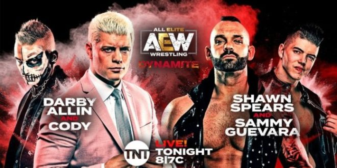 AEW Dynamite April 1 - Wrestling Examiner