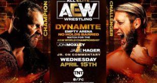 AEW Dynamite Results & Highlights 4-15 - Wrestling Examiner