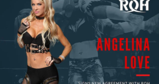 Angelina Love Officially Signs New Contract With ROH - Wrestling Examiner