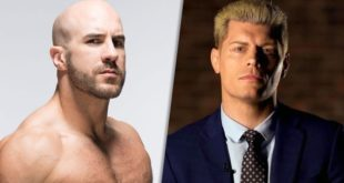 Cody Rhoeds and Cesaro - Wrestling Examiner