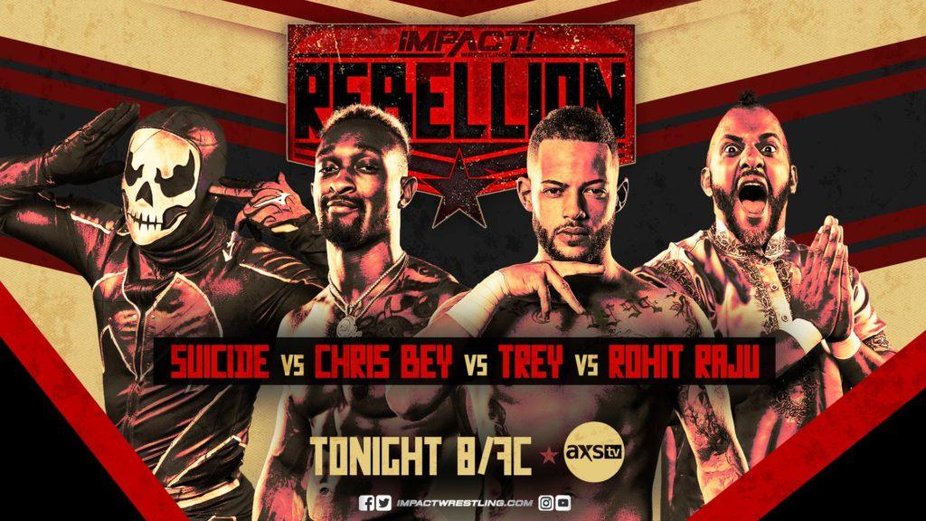 Impact Rebellion Night Two - Wrestling Examiner