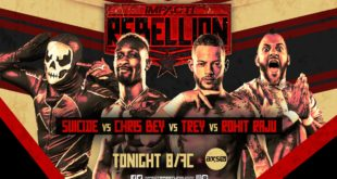 Impact Rebellion Night Two - Wrestling Examiner