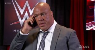 Kurt Angle on the Phone - Wrestling Examiner