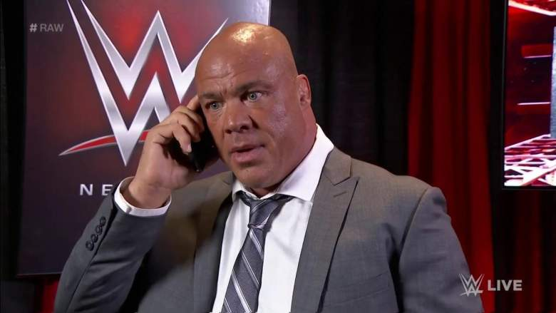 Kurt Angle on the Phone - Wrestling Examiner