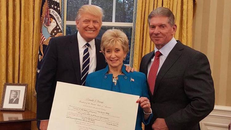 Linda McMahon, Vince McMahon, Donald Trump - Wrestling Examiner