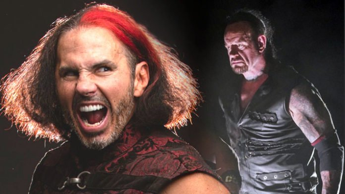 Matt Hardy and Undertaker - Wrestling Examiner