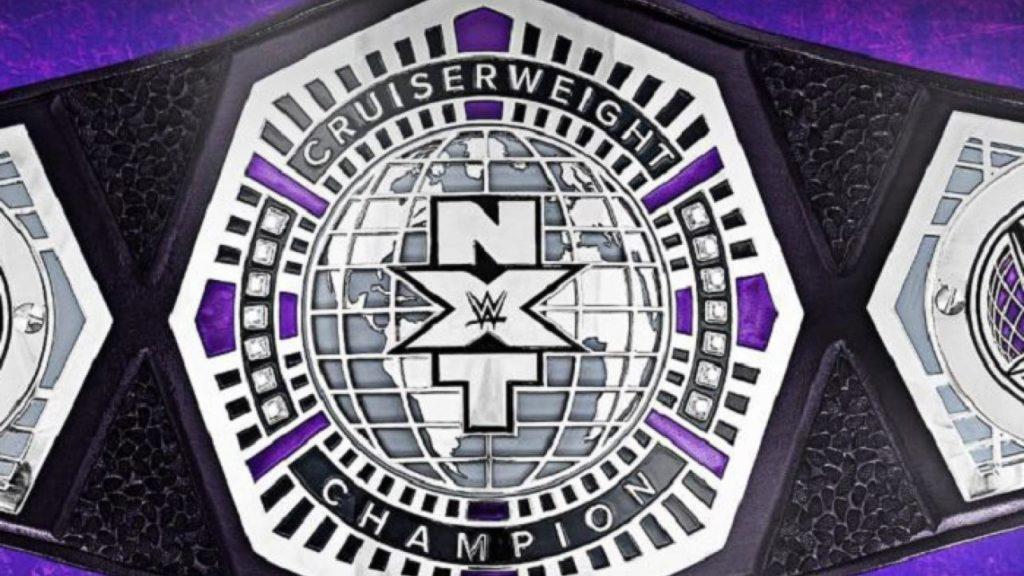 NXT Cruiserweight Championship - Wrestling Examiner