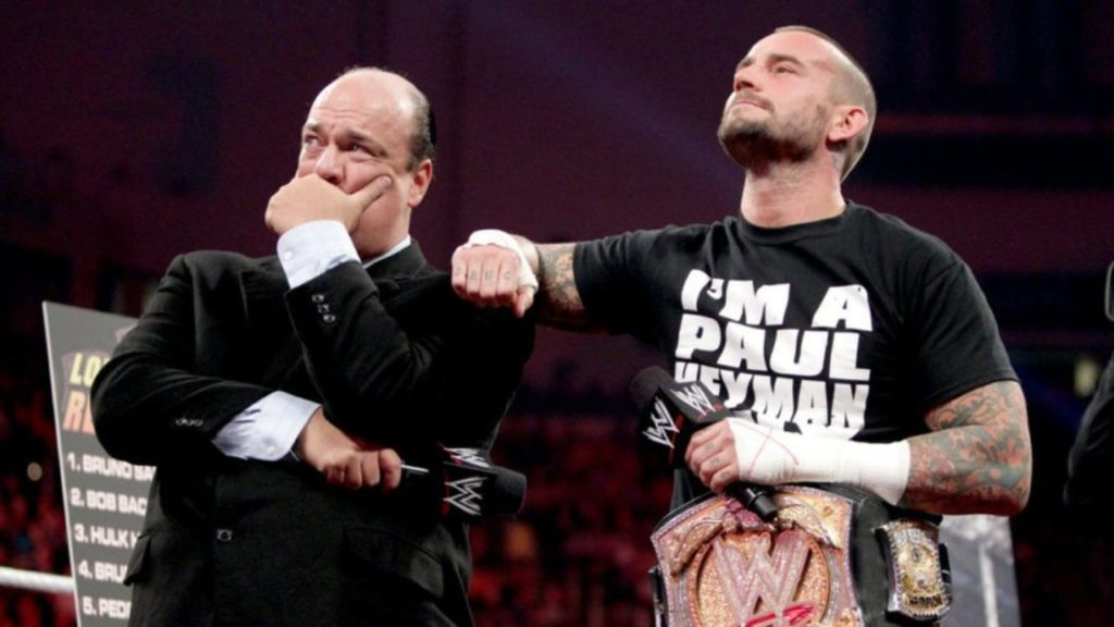 Paul Heyman and CM Punk - Wrestling Examiner