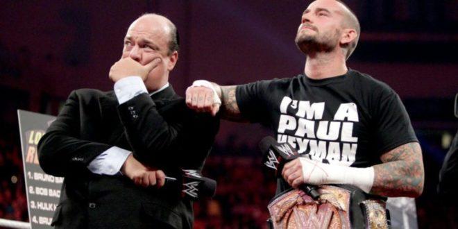 Paul Heyman and CM Punk - Wrestling Examiner
