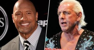 Ric Flair and The Rock - Wrestling Examiner