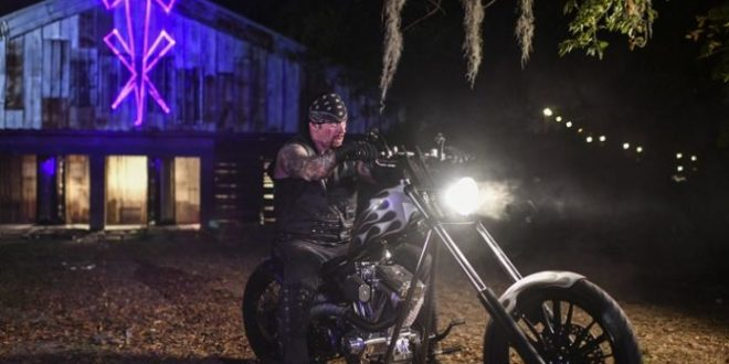 The Undertaker on Motorcycle - Wrestling Examiner