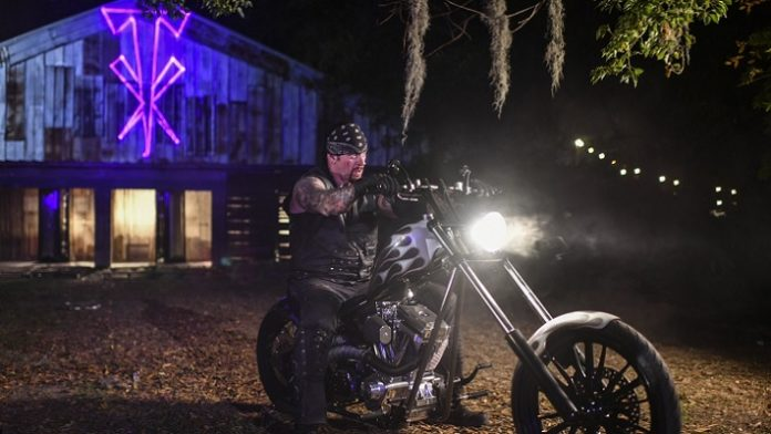 The Undertaker on Motorcycle - Wrestling Examiner