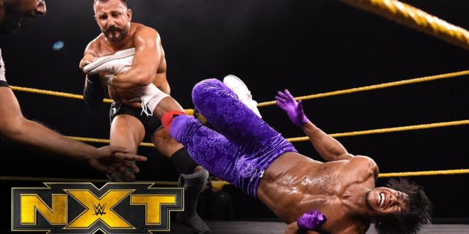 The Velveteen Dream vs Bobby Fish - Wrestling Examiner