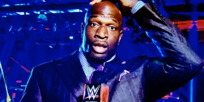 Titus O'Neil confused - Wrestling Examiner