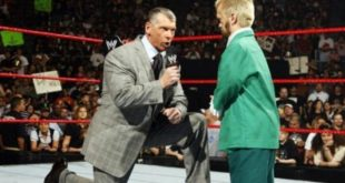 Vince McMahon and Hornswoggle