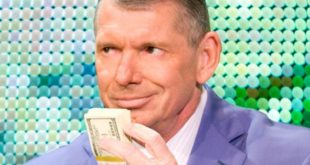 Vince McMahon with Money - Wrestling Examiner