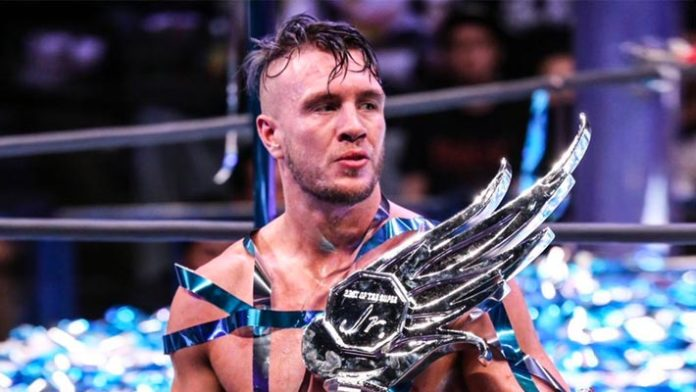 Will Ospreay Best of the Super Juniors Trophy - Wrestling Examiner