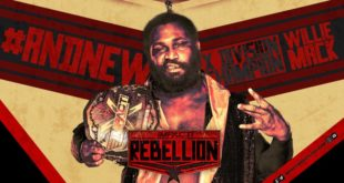 Willie Mack X Division Champion - Wrestling Examiner