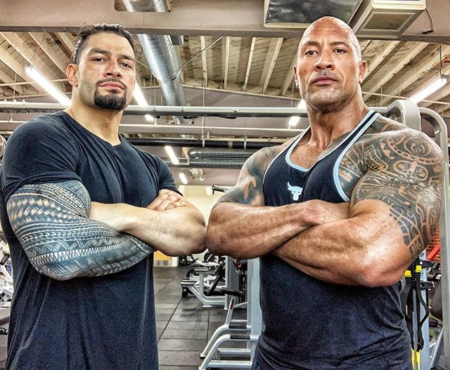 The Rock and Roman Reigns - Wrestling Examiner