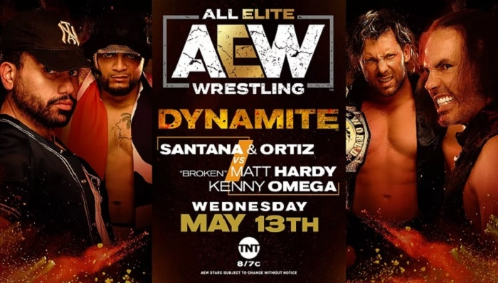 AEW Dynamite Results & Highlights 5-13 - Wrestling Examiner