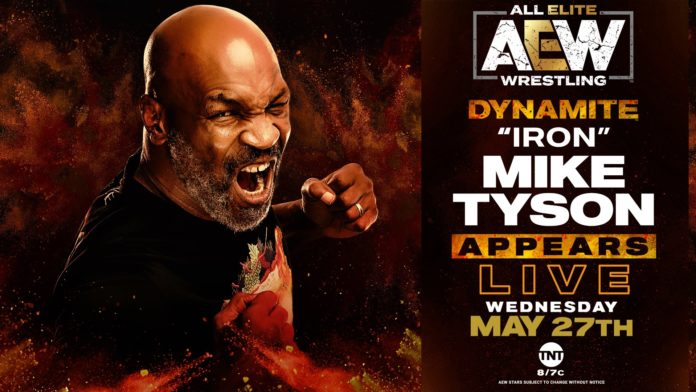 AEW Dynamite Results & Highlights (5-27) – Battle Royal, Chis Jericho Calls Out Mike Tyson - Wrestling Examiner