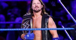 AJ Styles Champion - Wrestling Examiner