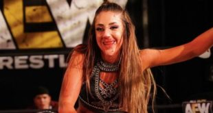 Britt Baker Busted Nose - Wrestling Examiner