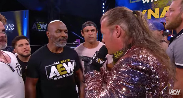 Chris Jericho on Mike Tyson angle - Wrestling Examiner