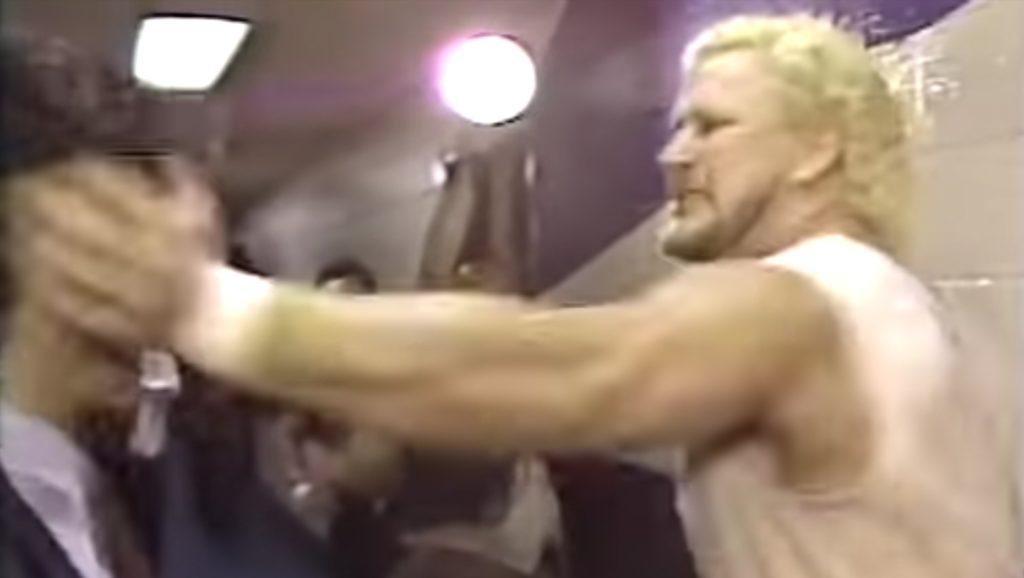 Dr D David Schultz Slaps John Stossel - Wrestling Examiner