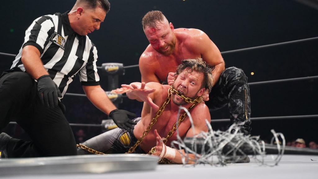 Jon Moxely vs Kenny Omega at Full Gear - Wrestling Examiner