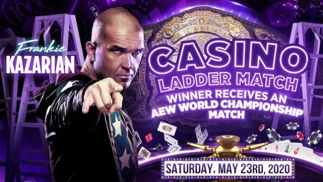 Kazarian Joins Casino Ladder Match at Double or Nothing - Wrestling Examiner