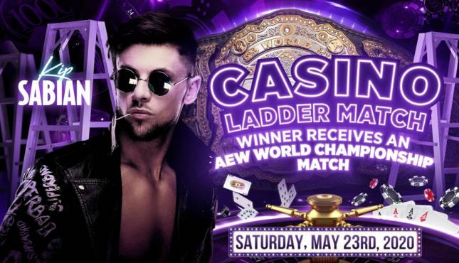 Kip Sabian Added To Casino Ladder Match At AEW Double or Nothing - Wrestling Examiner