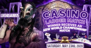 Luchasaurus Added to Casino Ladder Match at Double Or Nothing - Wrestling Examiner