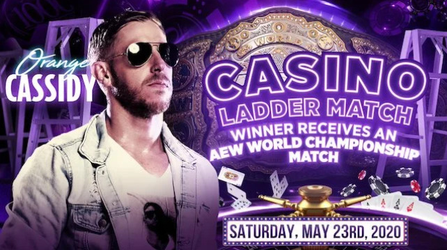 Orange Cassidy Added To Casino Ladder Match at Double or Nothing - Wrestling Examiner