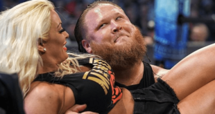 Otis with Mandy Rose - Wrestling Examiner