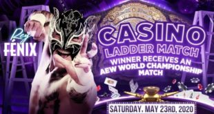 Rey Fenix Added To Casino Ladder Match at Double or Nothing - Wrestling Examiner