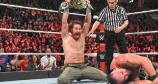 Sami Zayn Intercontinental Champion - Wrestling Examiner