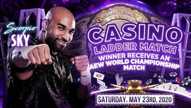 Scorpio Sky Added to Casino Ladder Match At AEW Double Or Nothing - Wrestling Examiner