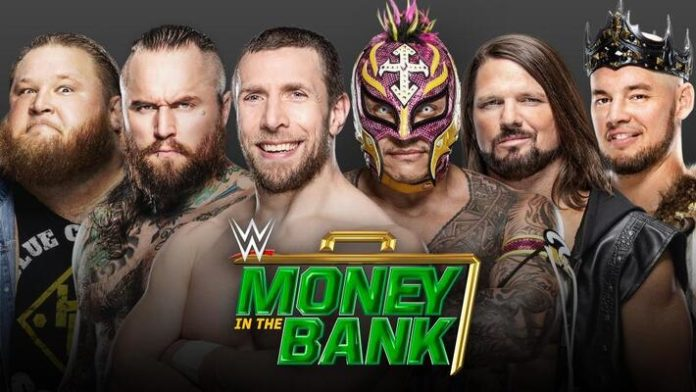 WWE Money In The Bank 2020 Results & Ladder - Wrestling Examiner