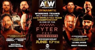 AEW Dynamite Results & Highlights (6-17) - Wrestling Examiner