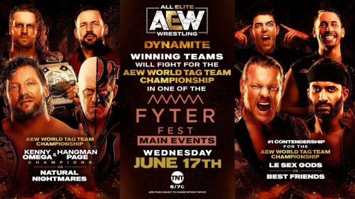 AEW Dynamite Results & Highlights (6-17) - Wrestling Examiner