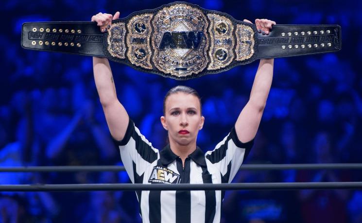 Aubrey Edwards - Wrestling Examiner