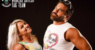 Candice LaRae & Joey Ryan World Cutest Tag Team - Wrestling Examiner