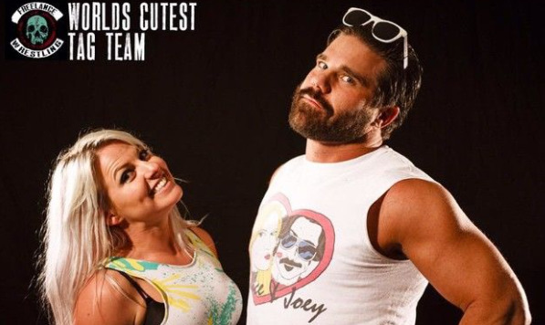 Candice LaRae & Joey Ryan World Cutest Tag Team - Wrestling Examiner
