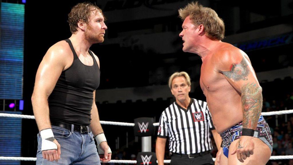 Chris Jericho vs Dean Ambrose - Wrestling Examiner