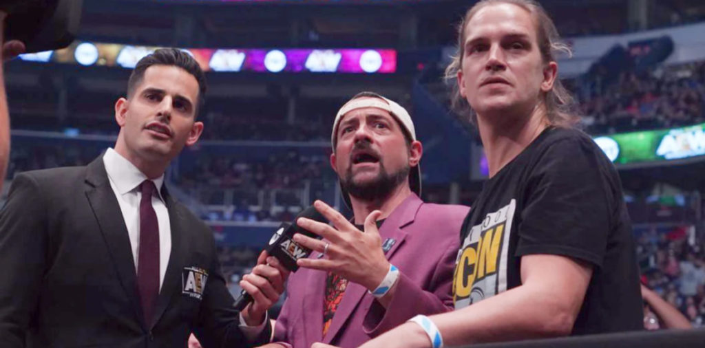 Kevin Smith From Jay & Silent Bob AEW - Wrestling Examiner