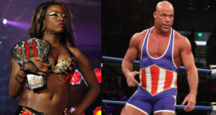 Kurt Angle Accused of Abuse by Rhaka Khan - Wrestling Examiner