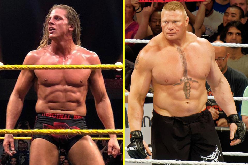 Matt Riddle & Brock Lesnar - Wrestling Examiner