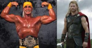 Chris Hemsworth & Hulk Hogan - Wrestling Examiner