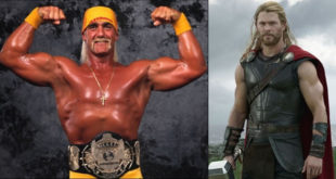 Chris Hemsworth & Hulk Hogan - Wrestling Examiner